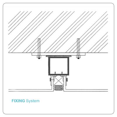 ورق آلومینیومی کامپوزیت پنل از دولایه ورق آلومینیوم در دو طرف و یک لایه میانی ترمو پلاستیک تشکیل می شود ورق آلومینیومی کامپوزیت فیکس(fix) هنگ(hang)