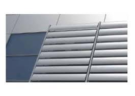 لوور آلومینیومی , قیمت لوور آلومینیومی , نمای لوور , ین نوع لوورها معمولا از ورق های آلومینیومی با ضخامت های مختلف قابلیت طراحی و تولید را دارا می باشد.