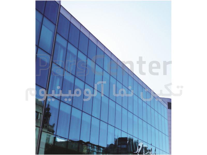 سیستم نمای شیشه ای کرتین وال فریم لس (یو چنل), قیمت کرتین وال, نحوه اجرای نمای کرتین وال, قیمت نمای شیشه, دتایل کرتین وال, دتایل اجرایی کرتین وال, کرتن وال,