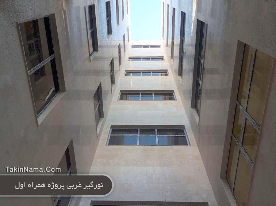 پروژه همراه اول درب و پنجره آلومینیومی ترمال بریک ضلع غربی