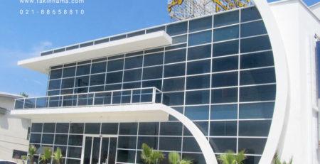 معرفینمای شیشه ای کرتین وال, مجری نمای کرتین والفریم لس, نصاب کرتین وال, تهاتر تجهیزات و مصالح ساختمانی, قیمت نمای فریم لس, قیمت شیشه نما,